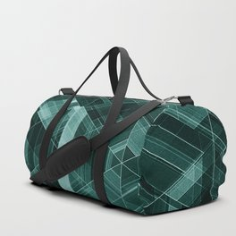 Abstract green pattern Duffle Bag