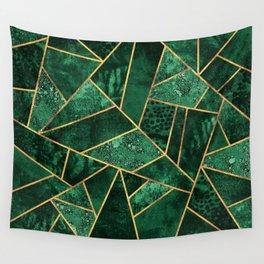 Deep Emerald Wall Tapestry