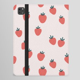 Strawberries iPad Folio Case