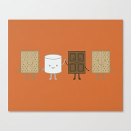 Life is S'more Fun Together Canvas Print