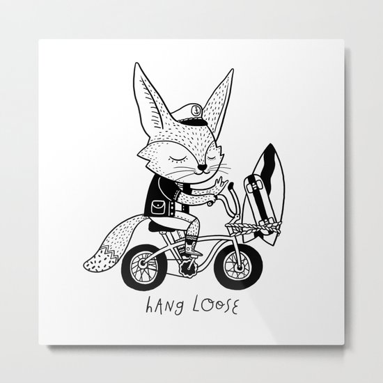 Hang Loose! Metal Print