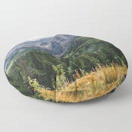 Tatry Koscielec Orla Perc Mountains Floor Pillow