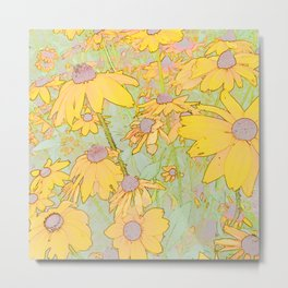 270 - Field of Flowers Metal Print