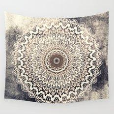 Autumn Boho Mandala Wall Tapestry