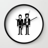 justice league Wall Clocks featuring Justice  by Band Land