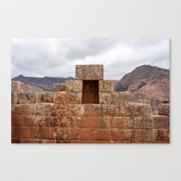 Ancient ruins of the Sacred Valley Canvas Print