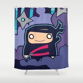 Little Ninja Shower Curtain