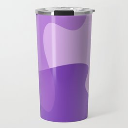 Pastel Ultra Violet Puzzle Pattern Jigsaw Pieces Travel Mug