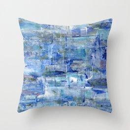 Blue Bay Throw Pillow