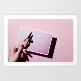 Lipstick Nars Art Print