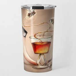Honey Mead Bees Travel Mug