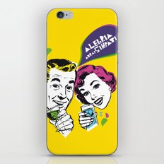 Alegria  iPhone & iPod Skin