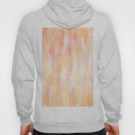 Abstract Layered Brush Texture Tulip Color Orange Pink Shade Hoody