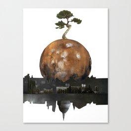 One Tree Left Canvas Print