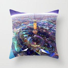Big Top At Night Throw Pillow