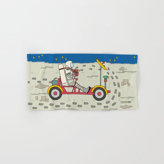 Moon Rover 1969 Hand & Bath Towel