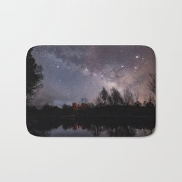 Colourful Cathedral Rock Bath Mat