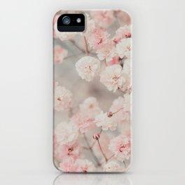 Gypsophila pink blush iPhone Case
