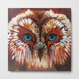 Rohr Owl Metal Print