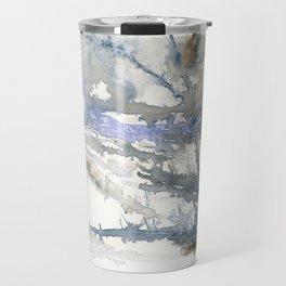 Snow Feild Travel Mug
