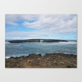 Pacific Blue Canvas Print