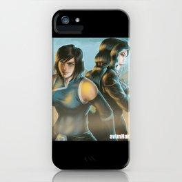 Korrasami Fanart iPhone Case