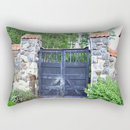 Biltmore Gates Rectangular Pillow