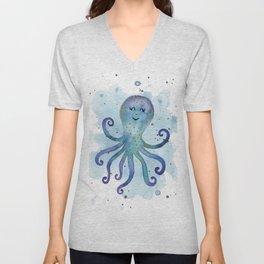 Nursery Octopus Unisex V-Neck