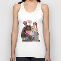 hermione Tank Tops featuring Tonks, Fleur, Hermione, Ginny and Luna by may12324