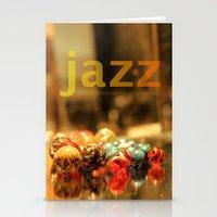 jazz Stationery Cards featuring Jazz ! by teddynash