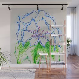Blue Ice... Wall Mural