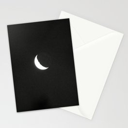 Mourning Moon Stationery Cards