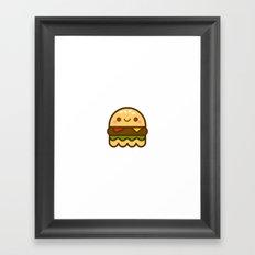 hamBOOger Jr Framed Art Print