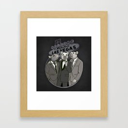Rat Pack Framed Art Print