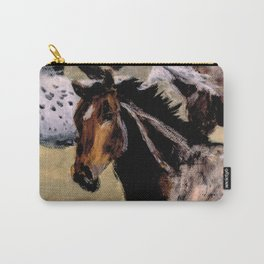 Galloping Horse Close-Up Carry-All Pouch
