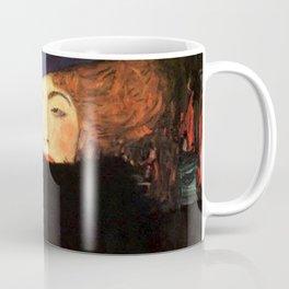 Gustav Klimt Lady With Hat And Feather Boa Coffee Mug