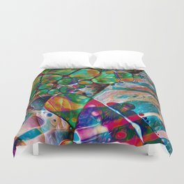 Palm of My Hand Duvet Cover