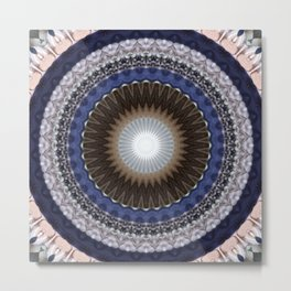 Recreational Maylanta Mandala 57 Metal Print
