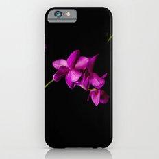 Dark Orchid Floral iPhone 6s Slim Case