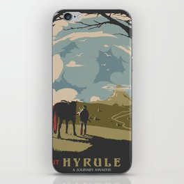 Visit Hyrule iPhone Skin