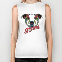gizmo Biker Tanks featuring Gizmo by Gizmo
