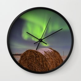 Hay! I thought I straw something in the sky. Wall Clock