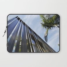 Palm Trees and Chrome Laptop Sleeve