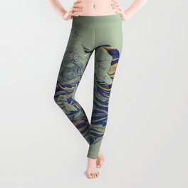 OCEAN AND LOVE Leggings