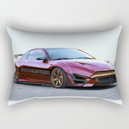 Mitsubishi Eclipse Artrace custom. Rectangular Pillow