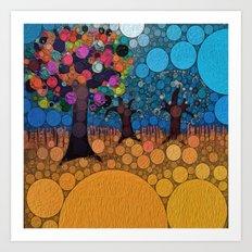 :: Jewel Tree :: Art Print