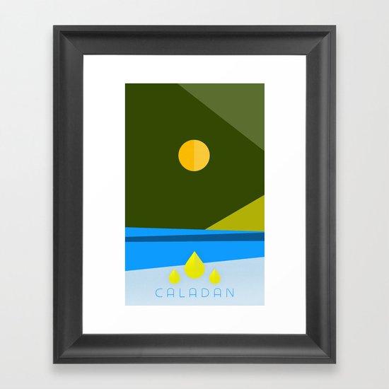 DUNE: CALADAN Framed Art Print