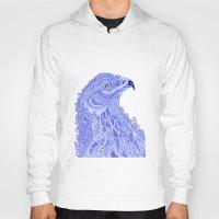 eagle Hoodies featuring Eagle by Olya Goloveshkina