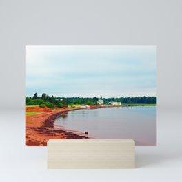 Red Sands Cove Mini Art Print