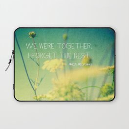 We Were Together Laptop Sleeve